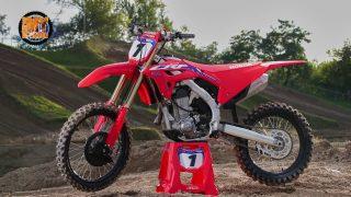 Bike Test New HONDA CRF  450 R 2021 seconda parte
