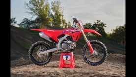 HONDA CRF 450 R 2021: VIDEO TEST prima parte