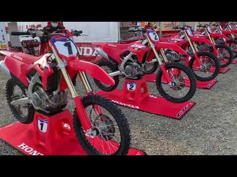 Presentazione della nuova HONDA CRF 450 R 2021 a Mantova.                        Adriano Narducci MotocrossMyPassion 👍🏻🏁🏆🇯🇵