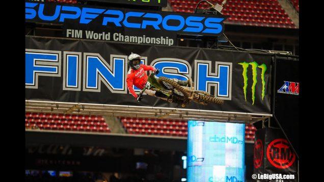 AMA SUPERCROSS 2021 Round 4 Indianapolis 1 Lorenzo Camporese story